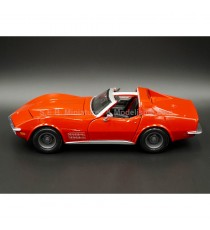 CHEVROLET CORVETTE 1970 ROUGE 1:24 MAISTO
