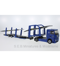 MERCEDES ACTROS 2 GEFCO PARTNERS TRANSPORT VOITURES 1:43 ELIGOR