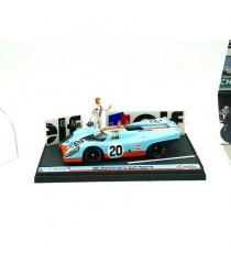 PORSCHE 917K N°20 JWA-GULF RACING TEAM 24H DU MANS + FIGURINE 1:43 BRUMM