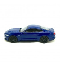 FORD MUSTANG 5.0 GT 2015 BLEU 1:24 WELLY